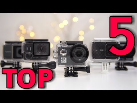TOP 5 Best Affordable Action Cameras in 2018