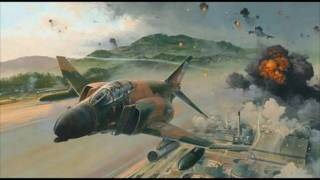 Aviation Art: Combat Jets
