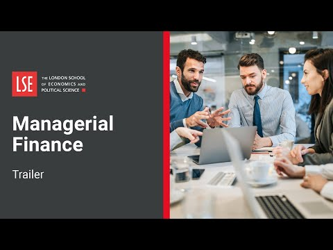 LSE Managerial Finance Online Certificate Course | Trailer - YouTube
