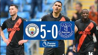 Man City 5-0 Everton Pekan 38