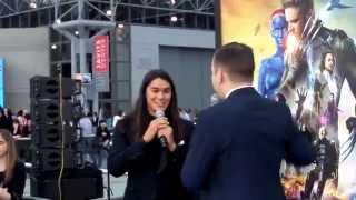Бу бу Стюарт, X-Men X-Perience at Jacob K. Javits Convention Center: Booboo Stewart