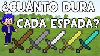 ¿CUÁNTO DURA UNA ESPADA? CRAFTEAR ESPADAS: CURIOSIDADES DE MINECRAFT