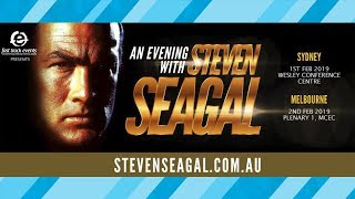 Steven Seagal is coming to Australia