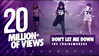 Don't Let Me Down - The Chainsmokers - Choreography - FitDance Life