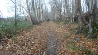 preview picture of video 'vtt à saint cosme en vairais (72) le 22/12/13'