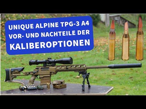 Unique Alpine: Im Test mit Videos: Das modulare Multikaliber-Scharfschützengewehr TPG-3 A4 von Unique Alpine