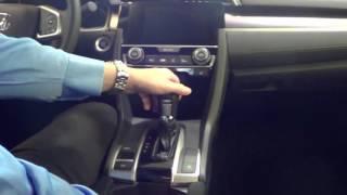 Shift Lock Release - 2017 Honda Civic