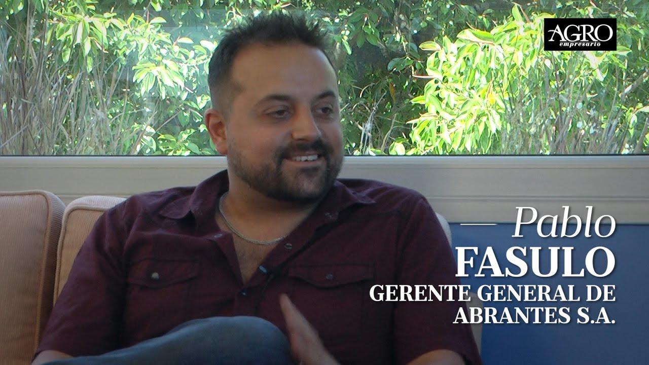 Pablo Fasulo - Gerente General de Abrantes S.A.