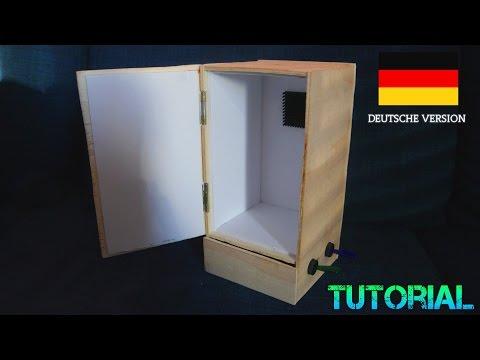 Mini Kühlschrank selber bauen Tutorial Peltier Element Kühlbox Thermoschrank Tutorial