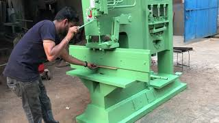 Hydraulic Iron Cutting 2in1 Cutting + Bending Press Machine. JABBAL 98143 70495, 98143 40495.