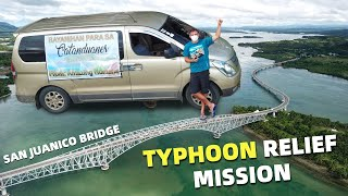 BecomingFilipino – PHILIPPINES TYPHOON RELIEF MISSION – Driving Alone From Mindanao To Luzon To Help