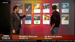 Pro Tour Dragons of Tarkir: Drafting with William Jensen