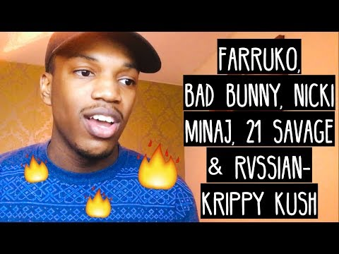 Farruko, Nicki Minaj, Bad Bunny - Krippy Kush (Remix) ft. 21 Savage, Rvssian REACTION mp3