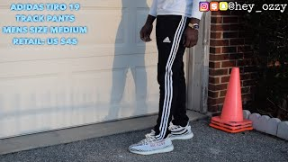 Adidas Tiro 19 Track Pants Review (Adidas Tiro 19 Training Pants) (@hey_ozzy Instagram)