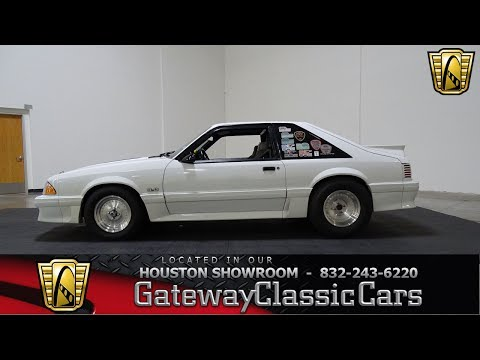 Video of 1992 Mustang located in Texas - LC8L