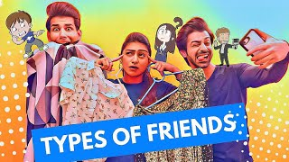 Types of Friends | Rimorav Vlogs