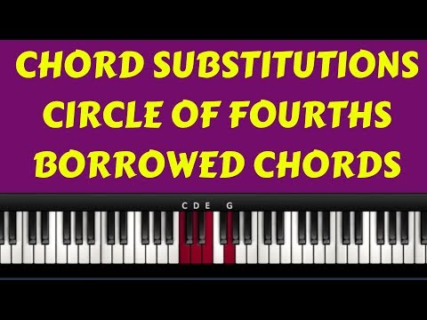 Advanced Worship Movements( Chord Substitutions, Circle Of Fourths, Borrowed Chords etc)