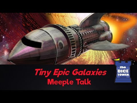 Tiny Epic Galaxies Review - with Meeple Talk