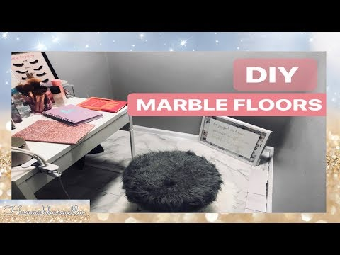 MARBLE FLOORS | DIY