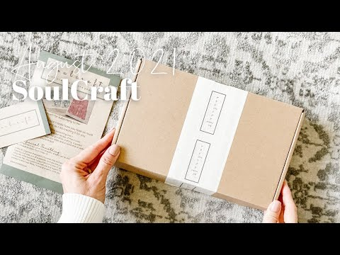 SoulCraft Unboxing August 2021