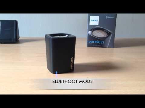 #TEST AUDIO PHILIPS BT100 speaker bluethoot active BT100