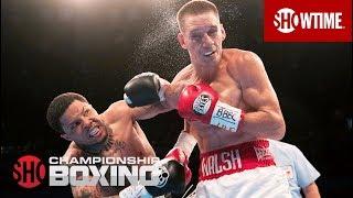 Gervonta Davis TKOs Liam Walsh   SHOWTIME CHAMPIONSHIP BOXING