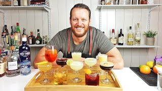 10 EASY COCKTAILS IN 10 MINUTES