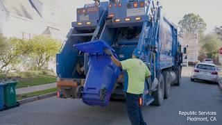 Garbage Trucks at Work