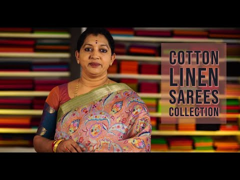 "<p style=""color: red"">Video : </p>LATEST LINEN SAREES COLLECTION 2020-09-26"