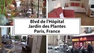 preview picture of video 'Video Tour of a 1-Bedroom Vacation Rental in Jardin des Plantes, Paris'