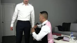 Taking Measurements for a Custom Suit - IngramCarnate in Chicago