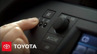 2010 Prius How-To: Setting The Clock   Toyota