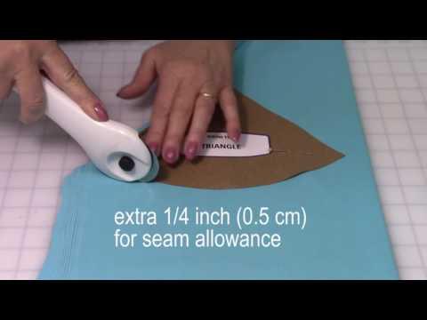 Online Bikini Course - Cutting The Fabric - YouTube