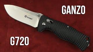 Ganzo G720-BK - відео 1