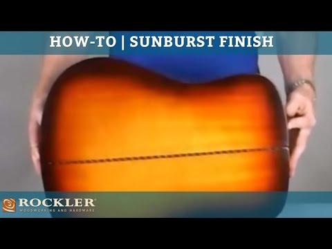 Behlen Sunburst Guitar Finish Kit Rockler Woodworking