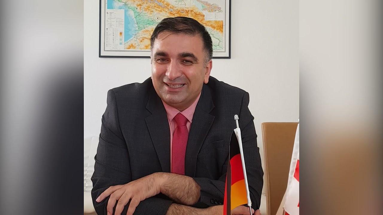 Das 25. Jubiläum von GDZ (Herr Irakli Shurgulaia) (georgisch)