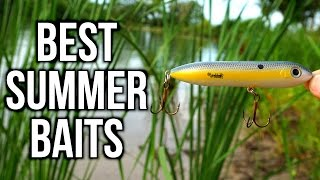 TOP 5 SUMMER BASS FISHING LURES - Pond & Lake Tips