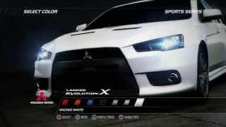Mitsubishi Lancer EVOLUTION X 미쓰비시 랜서 에볼루션 X - racer