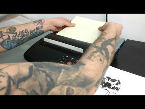 Hommii Thermodrucker Tattoo Transfer Printer Maschine
