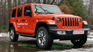 Walkaround: Jeep Wrangler JL Unlimited 2.2 CRD AT8 Sahara 2019