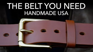 Handmade Leather Belts | Review Outdoor Gear