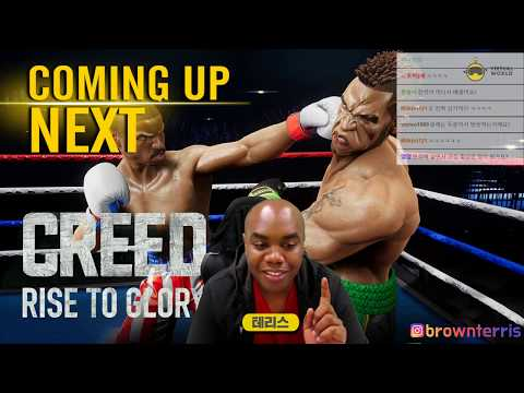 [트위치 풀영상]  권투 액션 VR 게임! (Creed: Rise to Glory™,  MARVEL Powers United VR)181002