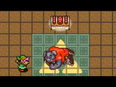 Link a tajemná truhla