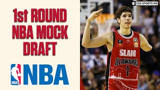 1st Round NBA Mock Draft; James Wiseman, LaMelo Ball, Obi Toppin | CBS Sports HQ
