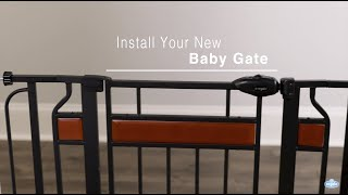 Regalo Baby Home Accents Baby Gate Installation (#0310 And #0320)