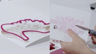 Simple Steps to Creating a High-Heel Shoe Card!