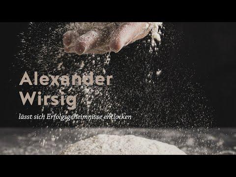 Alexander Wirsig lässt sich Erfolgsgeheimnisse entlocken