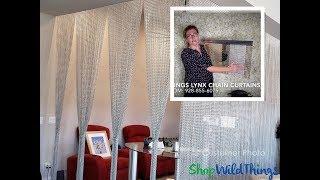 Where To Buy Custom Chain Metal Beaded Curtains - Fire Retardant