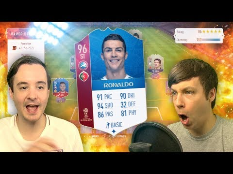 IT'S WORLD CUP SUPER SUNDAY TIME - FIFA 18 ULTIMATE TEAM