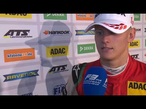 #F3 - 2018 Race of Nürburgring - Mick Schumacher' interview after Race 3